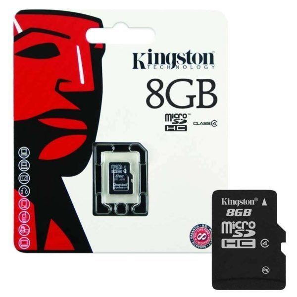 Kingston Class4 Micro SD 8GB SDC4/8GB with Adapter