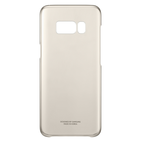 Samsung Clear Cover S8 Plus EF-QG955CFEGWW Gold