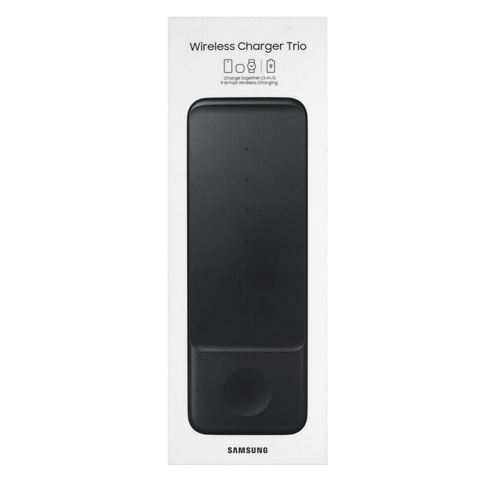 Samsung Wireless Charger Trio EP-P6300TB Black
