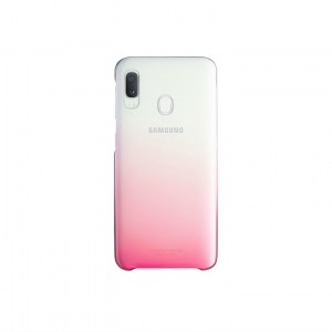 Samsung Galaxy A20e Gradation Cover EF-AA202CP pink back
