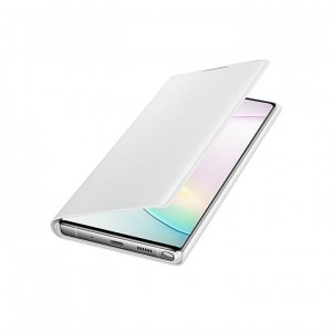 Samsung Galaxy Note 10 + LED View Cover EF-NN975PW white OPEN