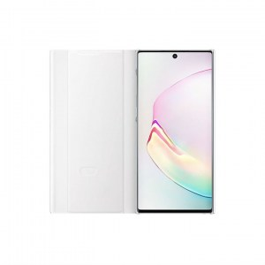 Samsung Galaxy Note 10 Clear View Cover EF-ZN970CW white open
