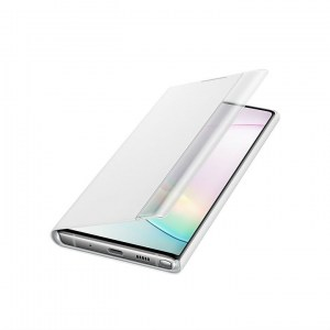 Samsung Galaxy Note 10 Clear View Cover EF-ZN970CW white side