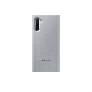 Samsung Galaxy Note 10 LED View Cover EF-NN970PS silver BACK