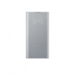 Samsung Galaxy Note 10 LED View Cover EF-NN970PS silver FRONT