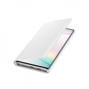 Samsung Galaxy Note 10 LED View Cover EF-NN970PW white OPEN